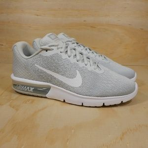 5137287be82b36 Nike Shoes - NEW Nike Air Max Sequent 2 Gray Sz 10